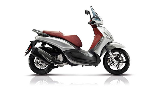 Beverly Sport Touring argento 300 cc